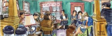 What's it like to attend a writing workshop at Kerouac House?
